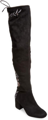 Alex+Alex Embroidered Over The Knee Boot