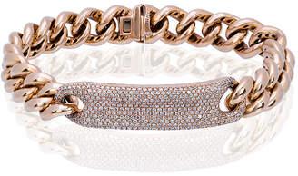 Shay diamond ID bracelet