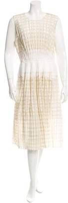 O'2nd Checkered Sheath Dress w/ Tags