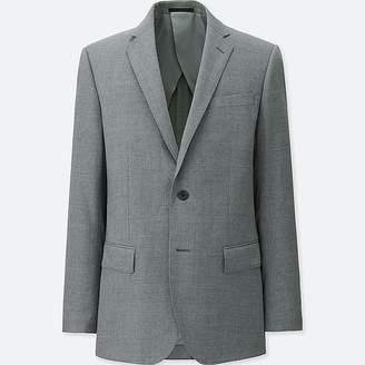 Uniqlo Men's Stretch Wool Slim-fit Jacket