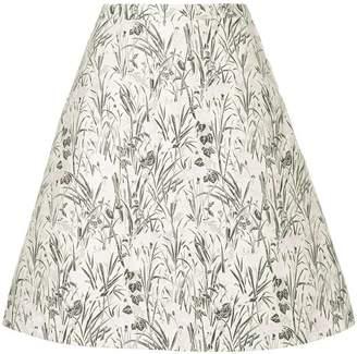 Giambattista Valli floral jacquard skirt