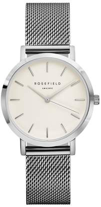 Tribeca ROSEFIELD Mesh Strap Watch, 33mm