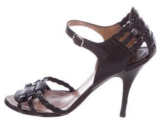 Laurence Dacade Leather Braided Sandals