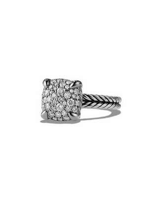 David Yurman 11mm Châtelaine Diamond Mosaic Ring