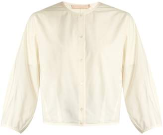 Thierry puff-sleeved cotton and silk-blend blouse Brock Collection Footlocker Finishline Geniue Stockist Cheap Price Buy Cheap Amazing Price Outlet Many Kinds Of CwhIS0Qh