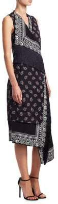 Altuzarra Bina Bandana Print Dress