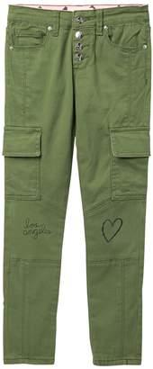 Jessica Simpson Pamela Skinny Twill Jeans (Big Girls)