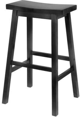 Winsome Wood 29-Inch Saddle Seat Bar Stool