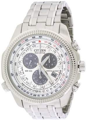 Citizen Eco-Drive Perpetual Calendar Alarm Men's Watch, BL5400-52A