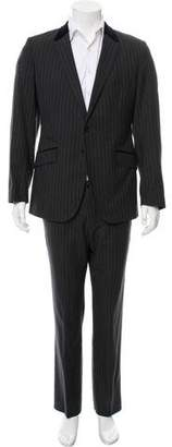 Paul Smith Wool Striped Suit