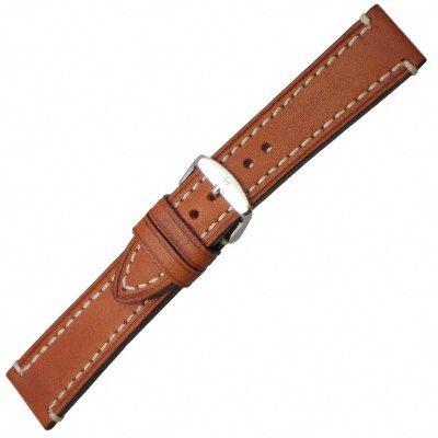 Hirsch 109002-70-22 22 -mm Genuine Calfskin Watch Strap