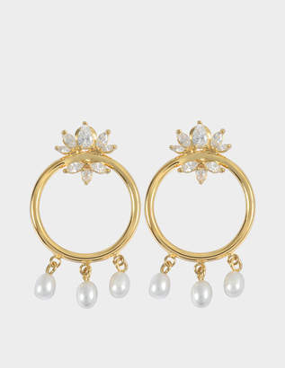 Shourouk Loops Star earrings