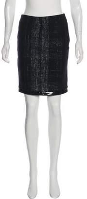 Yigal Azrouel Plaid Knee-Length Skirt