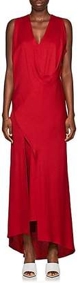 Zero Maria Cornejo Women's Sarah Draped Dress - Red
