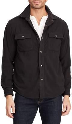 Chaps Point-Collar Fleece Shirt