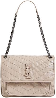 Saint Laurent Medium Niki Matelasse Shoulder Bag