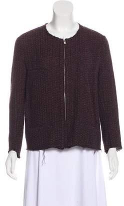 Etoile Isabel Marant Distressed Mélange Jacket