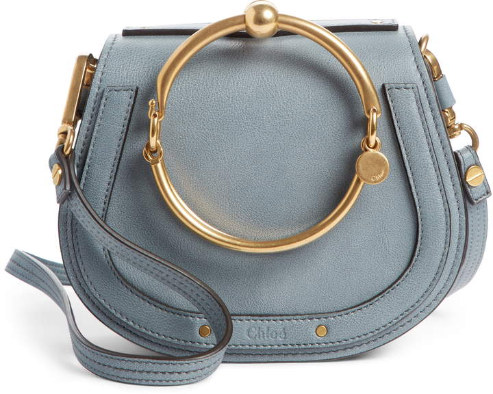 Chloe Small Nile Bracelet Leather Crossbody Bag
