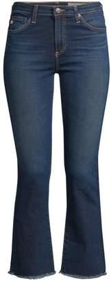 AG Jeans Jodi High-Rise Slim Crop Flare Jeans