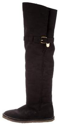 Stella McCartney Round-Toe Over-The-Knee Boots