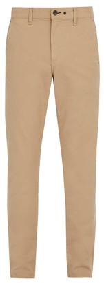 Rag & Bone Slim Fit Cotton Blend Chino Trousers - Mens - Beige