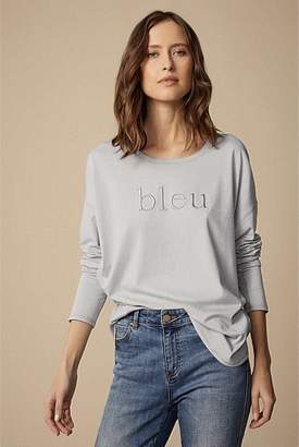 Witchery Embroidered Long Sleeve Colour Tee