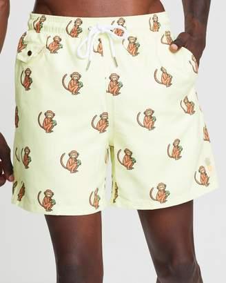 Monkeys Swim Shorts