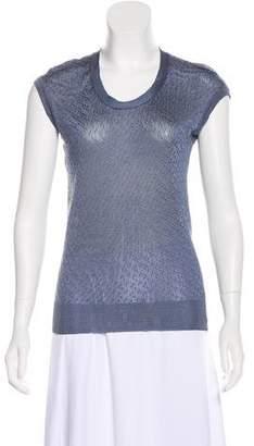 Balenciaga Sleeveless Knit Top