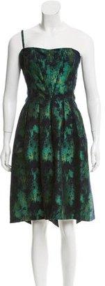 Vera Wang Brocade Knee-Length Dress $195 thestylecure.com