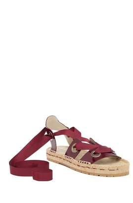 Donald J Pliner Esther Patent Leather Espadrille Sandal