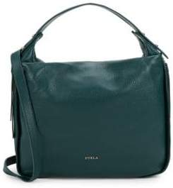 Furla Double Handle Leather Bag