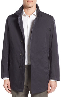 Sanyo Classic Fit Raincoat $475 thestylecure.com