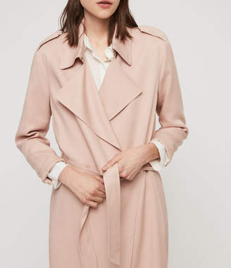 AllSaints Bexley Trench Coat