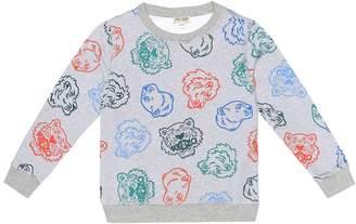 Kenzo Printed cotton sweater