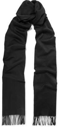 Bottega Veneta Fringed Cashmere Scarf - Black