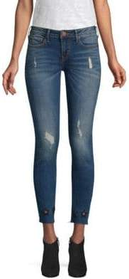 True Religion Halle Mid-Rise Ankle Jeans