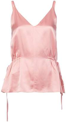 Derek Lam 10 Crosby V-Neck Cami with Side Ties