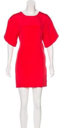 Rebecca Minkoff Silk Short Sleeve Mini Dress