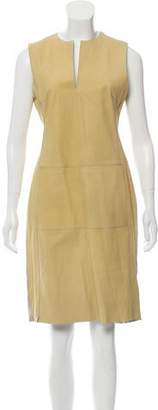 Derek Lam Sleeveless Leather Dress