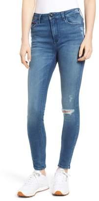 Tommy Jeans Santana Ripped Skinny Jeans