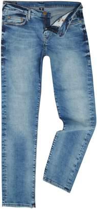 True Religion Men's Geno Desert Well Light Wash Tapered Jeans