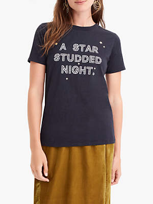 J.Crew Marfa T-Shirt, Deepest Charcoal