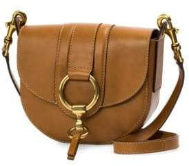Frye Ilana Harness Small Leather Saddle Bag