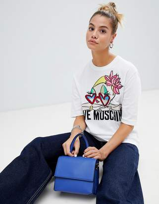 Love Moschino Chill Girl knit t-shirt