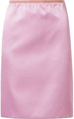 Marc Jacobs Duchesse-satin Skirt