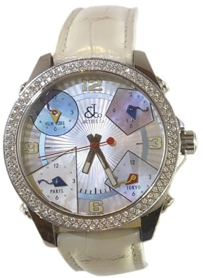 Marc By Marc JacobsJacob & Co. Mother of Pearl Stainless Steel 40mm Watch