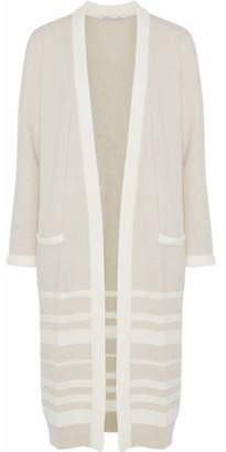 Agnona Striped Cashmere Cardigan