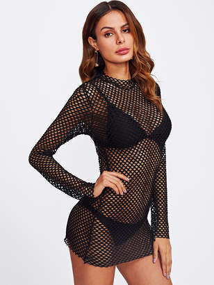 Shein See Through Cover Up