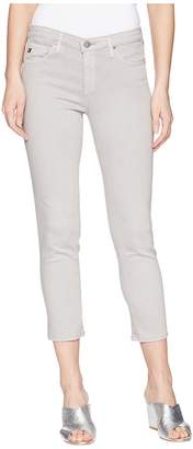 AG Adriano Goldschmied Prima Crop in Sulfur Grey Dawn Women's Jeans