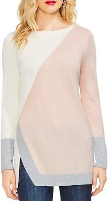 Vince Camuto Color-Block Tunic Sweater